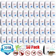 50x Electronic Ultrasonic Pest Reject Mosquito Cockroach Mouse Killer Repeller