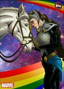 Topps Marvel Collect Weekly 2020 Original Art Wave 6 Valkyrie Rare Digital Card