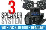 Ssv Works 3 Speaker Plug And Play Kit W/ Jvc Mr1 Receiver And Camera X32-3a1