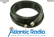 400 Series Ultra Low Loss Coax Cable W/n Male Connectors For Rf/cb - 150 Ft.