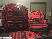 5.11 Tactical Red Rush72 Tactical Backpack- Fire/ems Edition- Rare/discontinued