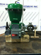 Fisher 3in Type 8580 Cl 150-300/750 Sst Actuated Butterfly Valve