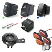 Sxs Universal Street Legal Turn-signal And Led Light Kit W/horn And Hazard Feature
