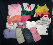 New Children's Place Girls 6/9 Months Mixed Clothing Lot Of 17 New Pcs, Old Navy