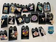 Vintage Official Pin Trading Walt Disney World Mickey Tinkerbell Boo Epcot