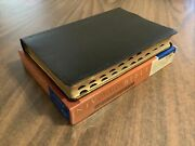 Niv 1984 Thinline Reference Bible Large Print Indexed - Genuine Leather - Oop 84