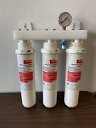 Cuno 3m Whole House 3 Stage Filter System W/ Water Filter Cartridges Cfs8720-s