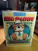 Lands' End - Gund - Big Daddy Rugby Bear - New With Box And Tags