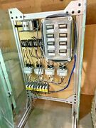Used Temperature Control System Panel Omron, Marathon, Struthers-dunn Relays