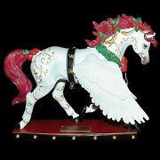 Horse Of A Different Color Christmas Angel Winged 2011 Figurine 60207 623/10,000
