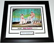 Julie Andrews Signed Autographed Cut + Mary Poppins Lobby Card Framed + Psa/dna