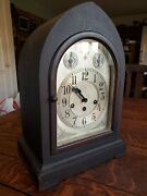 Seth Thomas Model 72 Westminster Chime Mantle Clock W 113 Movement