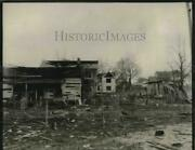 1935 Press Photo Helenwood Tennessee Fifty Homes Damaged Explosion