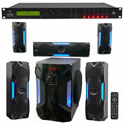 Mackie Sp260 2x6 Pa Speaker System Sound Processor Optimizer+home Theater System