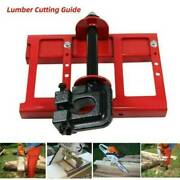 Steel Lumber Cutting Guide Timber Tuff Chainsaw Attachment Saw Mill Wood Cut Us