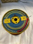 Vintage Spool Red Translucent Hotrod Spark Plug Wire Preferred Electric And Wire