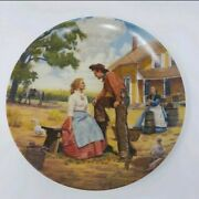 Edwin M. Knowles Oh What A Beautiful Mornin' Oklahoma Decorative Plate