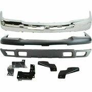 New Front Bumper Kit With Bracket For Chevy Silverado 2500hd 3500 2003-2007