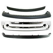 New Front Bumper Chrome Upper Valance Molding For Dodge Ram 1500 2002-2005