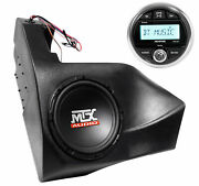 Mtx Powered Subwoofer+receiver For 2012-2016 Can-am Commander/maverick Non-x3