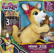 Furreal Mama Josie The Kangaroo Interactive Pet Toy, Loveable For Ages 4+, New