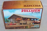N Scale Vollmer Guterschuppen Freight Station Goods Shed Building Kit 7539 47539
