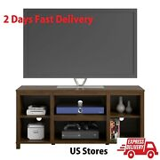Canyon Walnut Universal Tv Stand Console Table For Tvand039s Up To 50 Us Stores