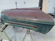 1942 1946 1947 Ford Truck Hood Radiator Saddle And Upper Grille Pan / Hood Lat