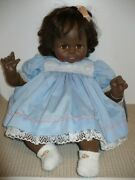 Lovely Vintage 1977 Madame Alexander African American Pussycat Baby Doll Euc