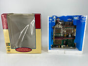 Rare Lemax 2004 Ashton Antiques Essex Street Collectable Lighted Building Facade