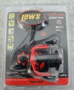Lewand039s Lzr Pro Speed Spin Rotor Reel Lzrp30 Black And Red 10 Bearing System 6.21