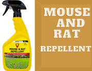 Mouse And Rat Repellent Spray Poison Free Victor White Safe Rat Pest Repellent