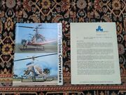 Soloy Turbine Engine Converion Sales Brochure Helicopter Hiller 12e And Bell 47