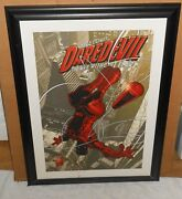 Signed Stan Lee And Joe Quesada Dynamic Forces Daredevil Giclee Only 40 Made