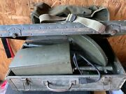 Us Army Signal Corps Of Engineers Scr-625-c Land Mine Detector / Sweeper And Case