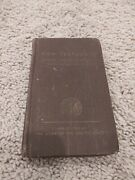 Vintage 1943 Roosevelt Pocket Bible - Catholic New Testament - Wwii Army Issued