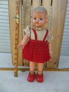 Antique Vintage Old Clockwork Celluloid And Tin Walking Doll Made In Japan