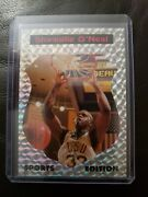 1992 Sports Edition Shaquille Oand039neal Prism Promo Card Rare Dunk City Rookie