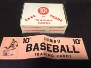 1950's Exhibit Supply, Trading Cards Empty Box Lot A, Zql