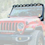 For Jeep Gladiator 20 Roof Mounted Xl Linkable Series 208 Light Bar Kitw Dual