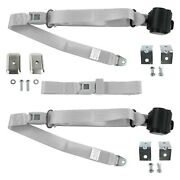 For Triumph Spitfire 63-80 3-point Standard Buckle Retractable Bench Seat Belts
