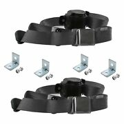For Buick Special 50-58 3-point Airplane Buckle Retractable Bucket Seat Belts