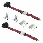 For Buick Special 50-58 2-point Airplane Buckle Retractable Bucket Seat Belts