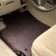 For Mazda 5 06-10 Carpeted 1st And 2nd Row Burgundy Floor Mats