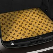 For Bmw X1 13-15 Fashion Auto Mat Carpeted Terracotta Cargo Mat Bench Down