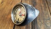 1950and039s Chevy Chevrolet Dash Car Clock Gm Vintage Lighted Geo W Borg Corp.