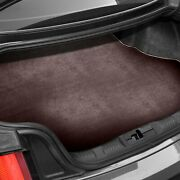 For Bmw X1 13-15 Carpeted Burgundy Cargo Mat Bench Down