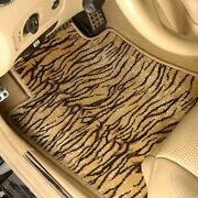 For Chevy Chevelle 66-67 Safari Auto Mat Carpeted 1st Row Tiger Floor Mats