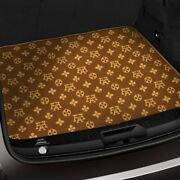 For Bmw X1 13-15 Fashion Auto Mat Carpeted Brown/beige Cargo Mat Bench Down