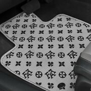 For Chrysler 300m 99-04 Fashion Auto Mat Carpeted 1st Row Black/gray Floor Mats